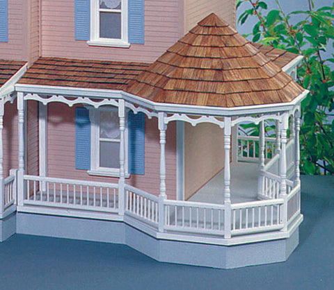 "Gazebo 11"" Wraparound Porch Kit (Right Side Only)"