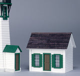 "Finished 1/2"" Scale Lighthouse Dollhouse"