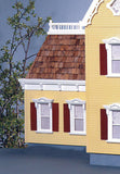 Mansard Dollhouse Kit Addition