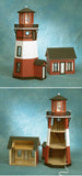 "1/2"" Scale New England Lighthouse Dollhouse Kit"