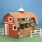 Donation of a Wildwood Stable Dollhouse Kit