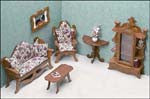 Dollhouse Living Room Furniture Kit