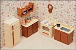 Dollhouse Kitchen Furniture Kit