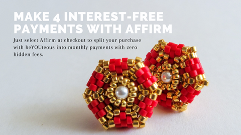 Pay at your own pace with Affirm