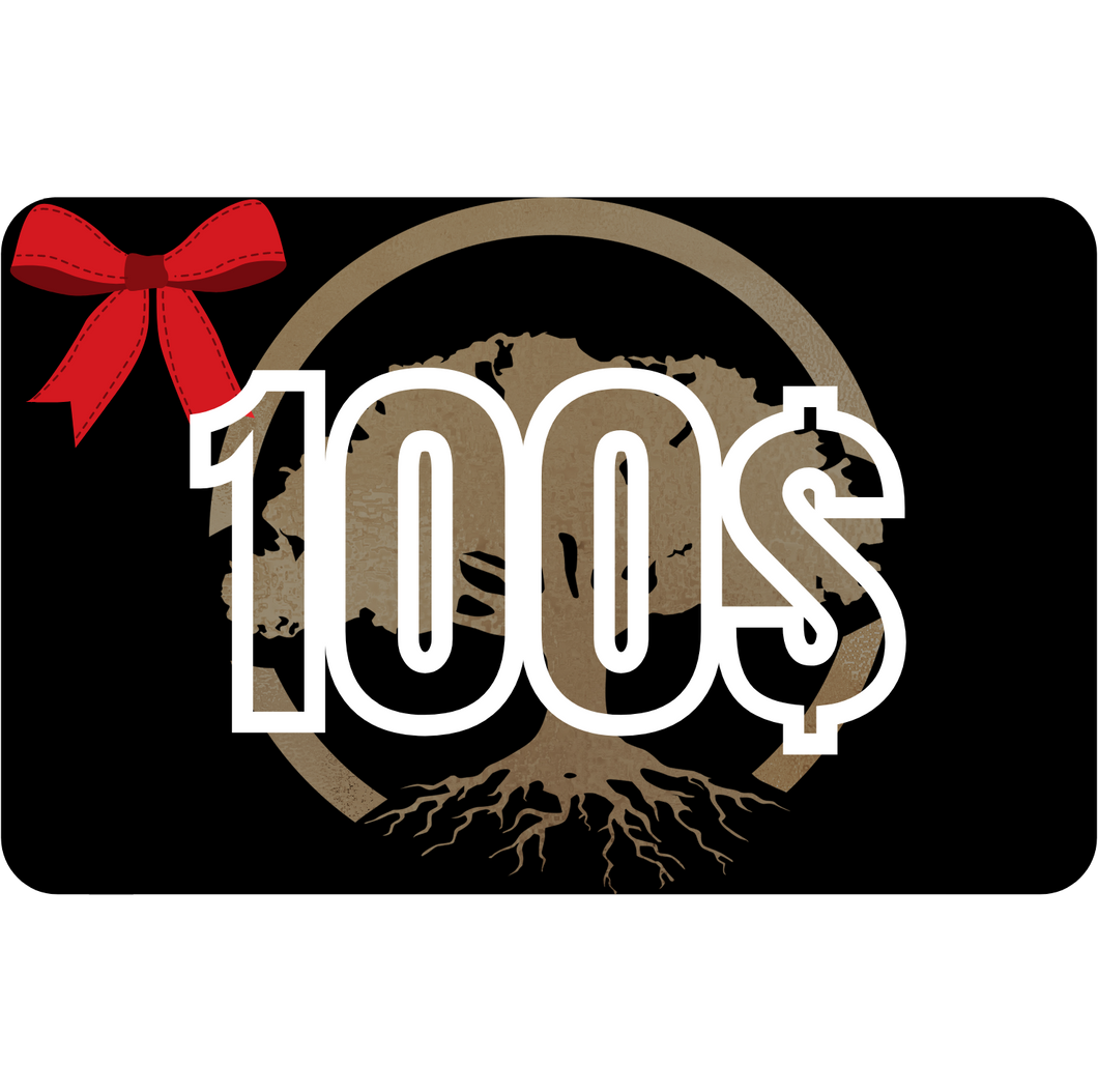 Carte-cadeau de 100$ - Bois Concept SC | Woodworking and furniture