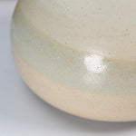Load image into Gallery viewer, Close up of glazing detail on small ceramic wasi sabi vase