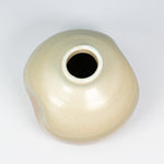 Load image into Gallery viewer, Aerial view of small ceramic wasi sabi vase