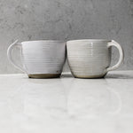 Load image into Gallery viewer, Pair of ceramic cups side by side