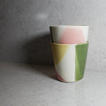 Load image into Gallery viewer, Pair of multi-coloured cups