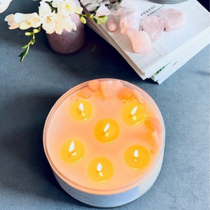 Crystal Infused Candle 2.2 kg