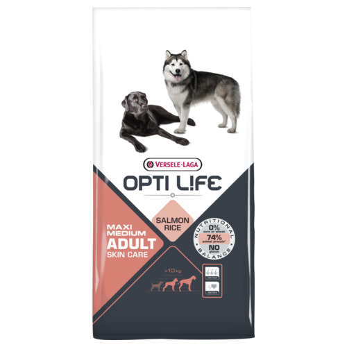 Opti Life Adult Skin Care Medium-Maxi 12.5kg