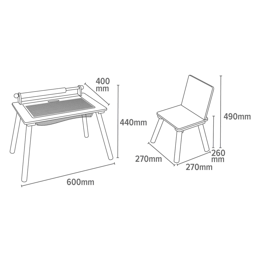 TF5197-white-writing-multi-purpose-table-and-chair-dimensions