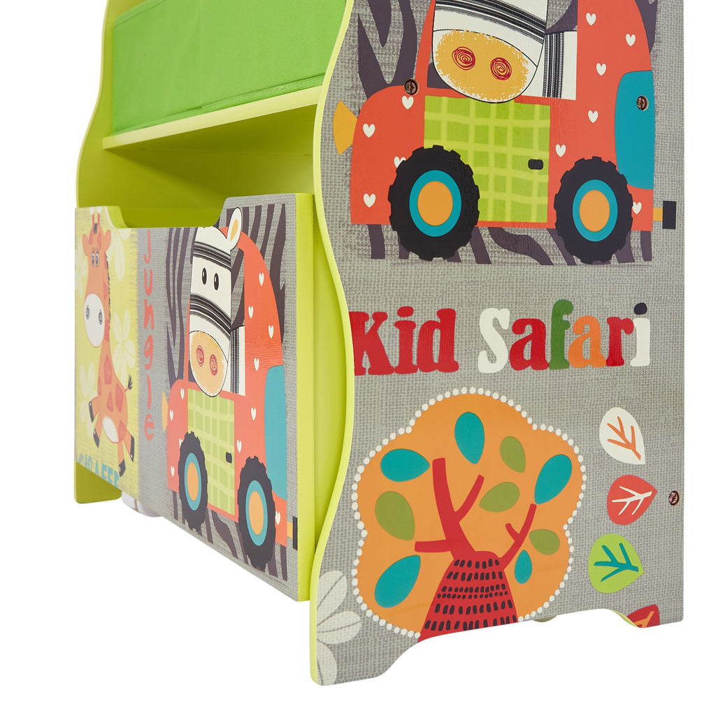 TF4821-kids-safari-storage-box-unit-close-up-2