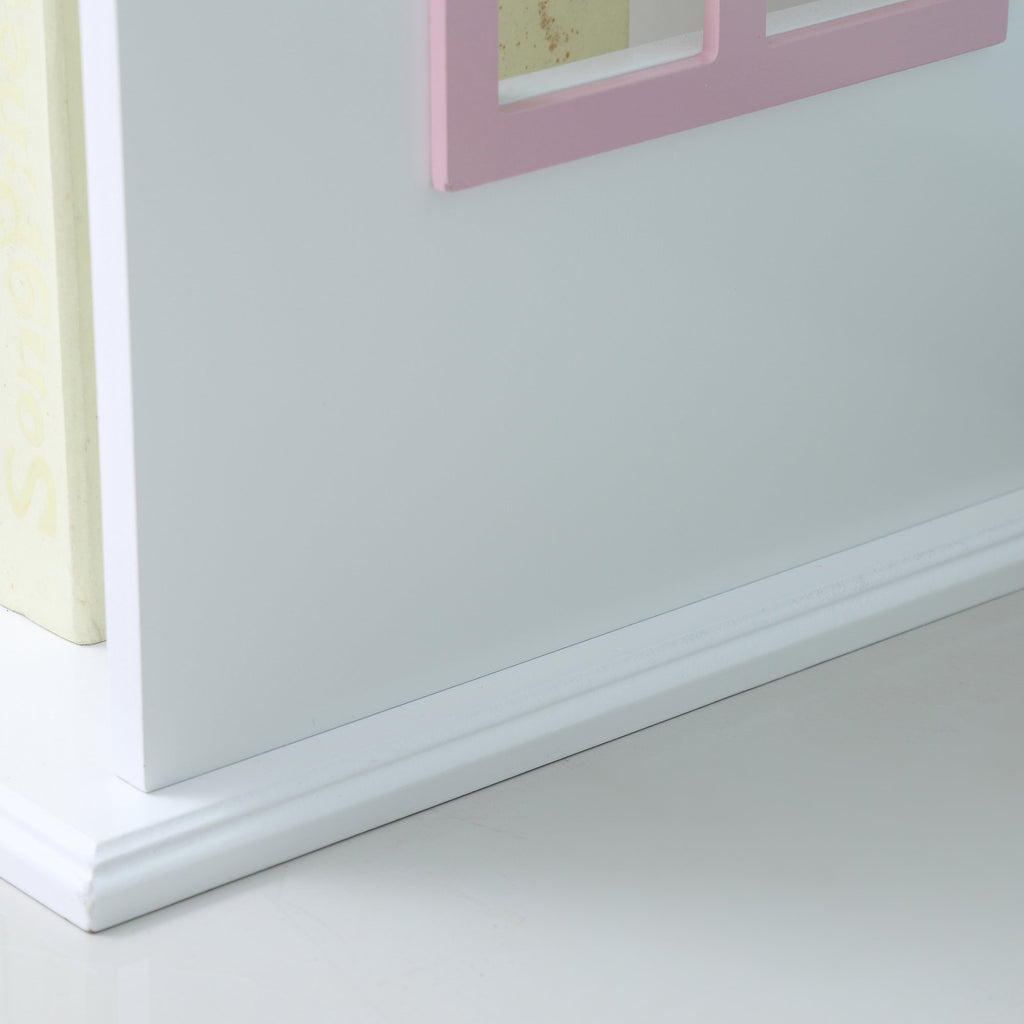 TY2008-white-tall-doll-house-bookcase-with-pink-roof-lifestyle-close-up-3