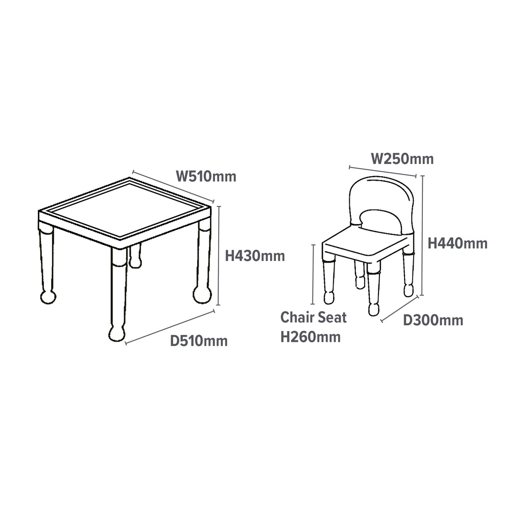 8809N-multi-coloured-table-and-4-chairs-dimensions