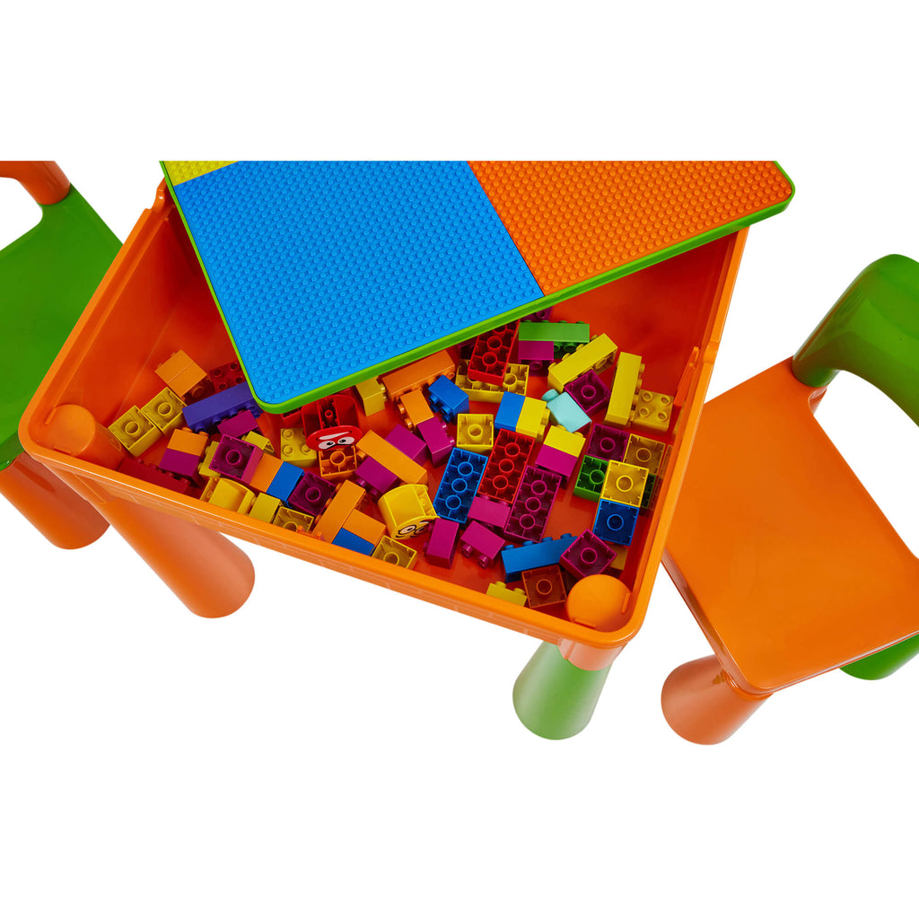 899g-green-and-orange-table-and-2-chairs-product-close-up-storage