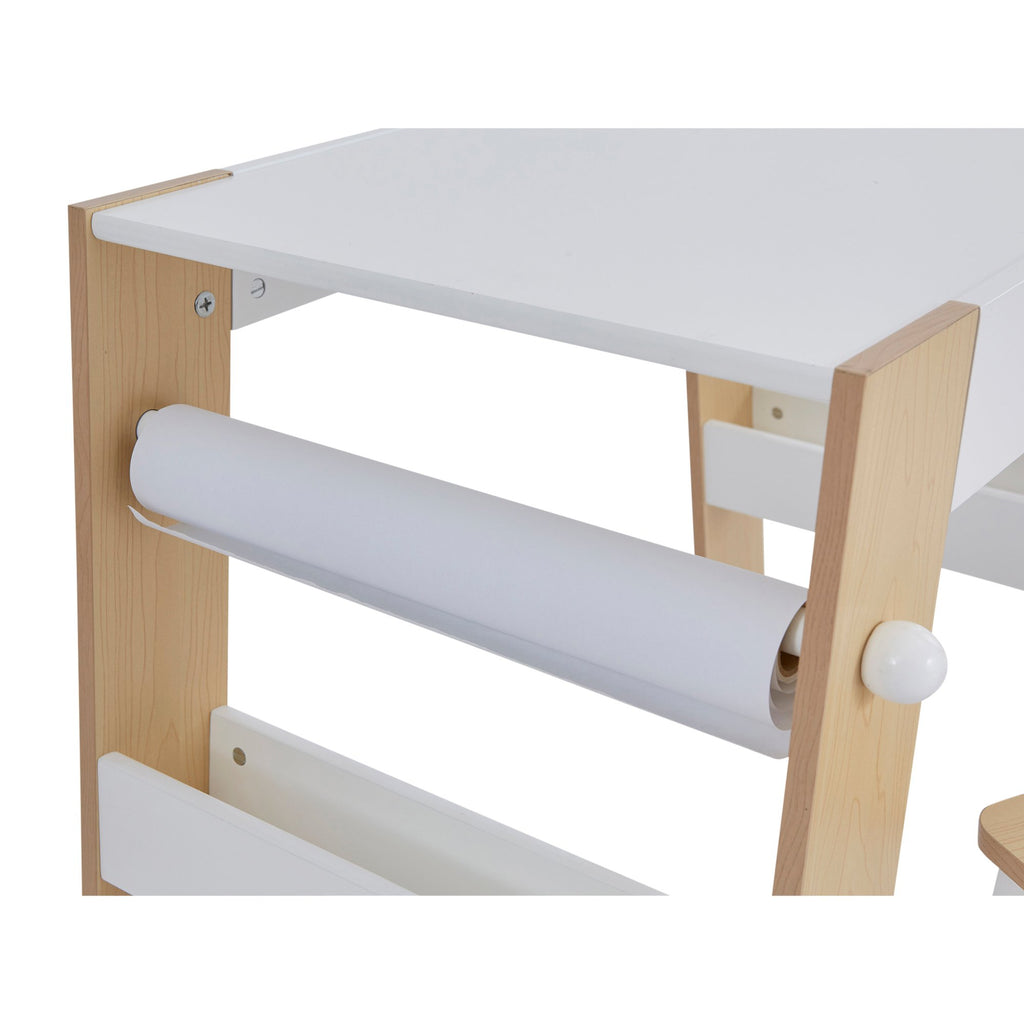 TF5714-kids-play-table-and-stool-set-paper-roll-close-up