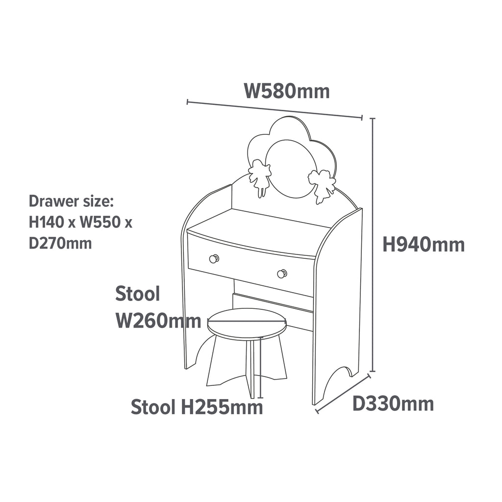 LHT10042-fairy-dressing-table-and-stool-dimensions