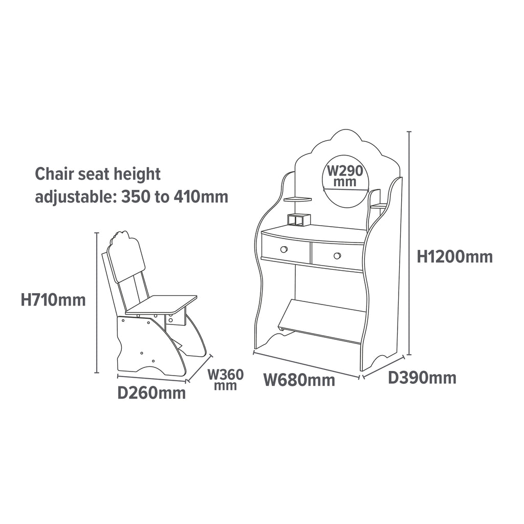 LHT10043-fairy-dressing-table-dimensions