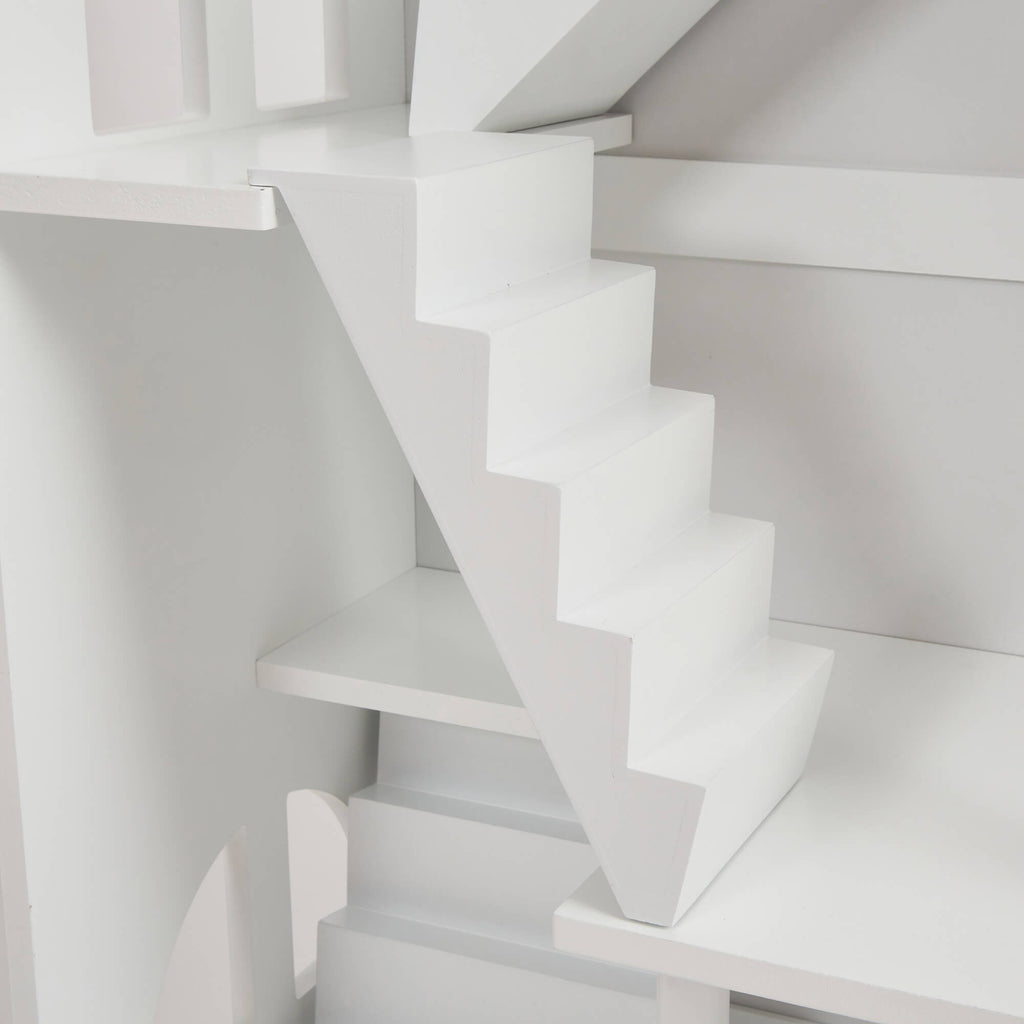 LHT10091-white-dolls-house-bookcase-with-balcony-product-close-up-stairs