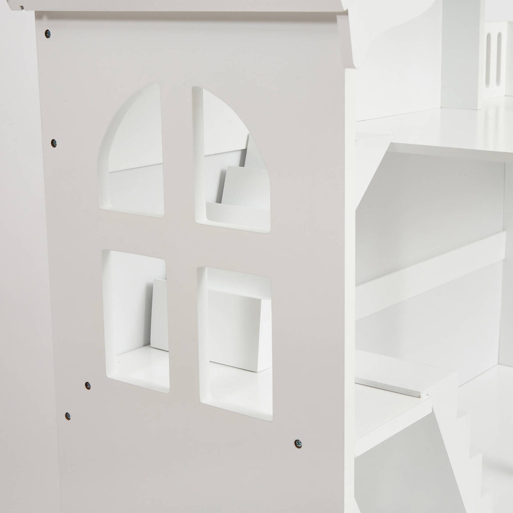 LHT10091-white-dolls-house-bookcase-with-balcony-product-close-up-window
