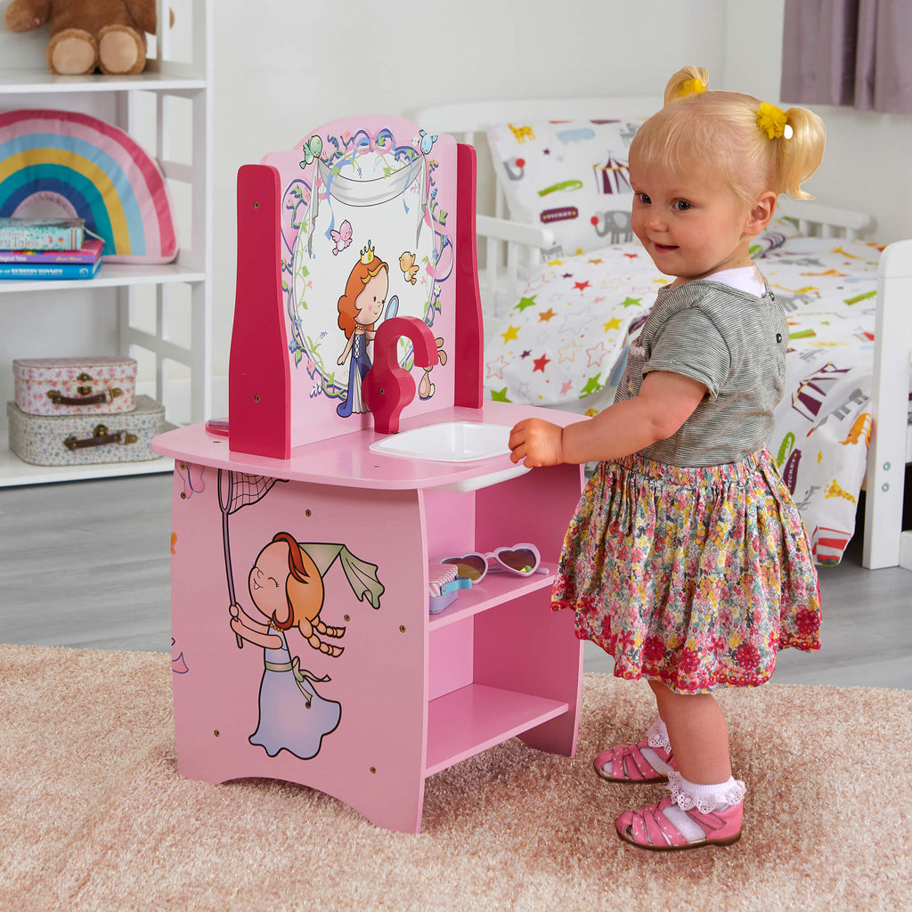 MZ4172-princess-wooden-kitchen-lifestyle-sink-girl