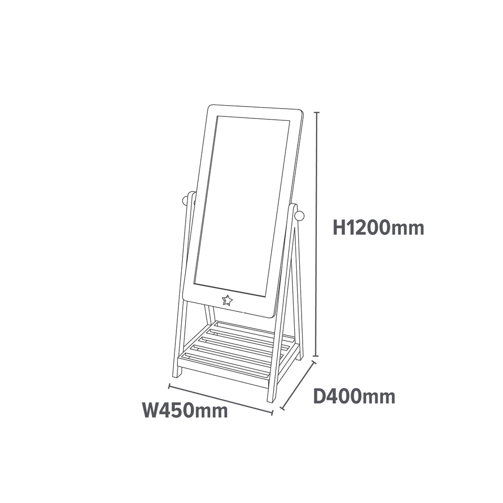 TY10141-white-dressing-mirror-dimensions