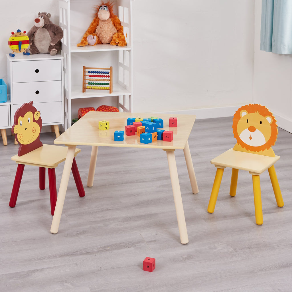 MZ3868-N-jungle-monkey-lion-table-and-2-chairs-lifestyle-1
