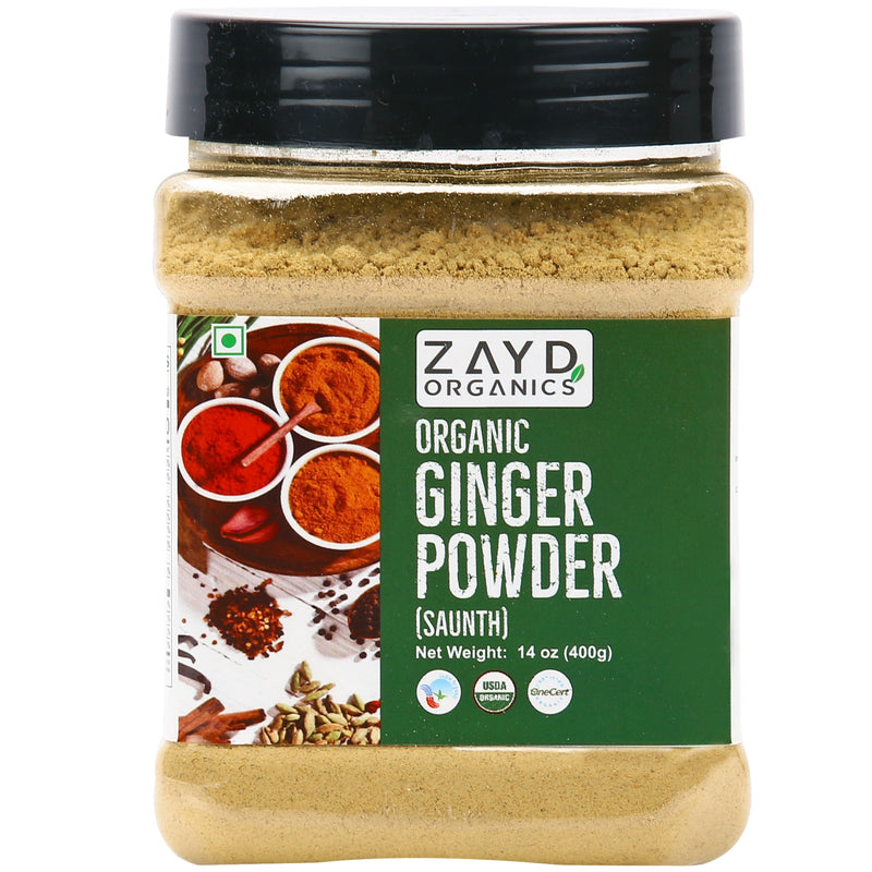 Zayd Organic Ginger Powder 14oz, USDA Organic Certified