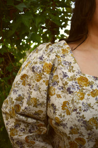 Megan Blouse in Golden Rose