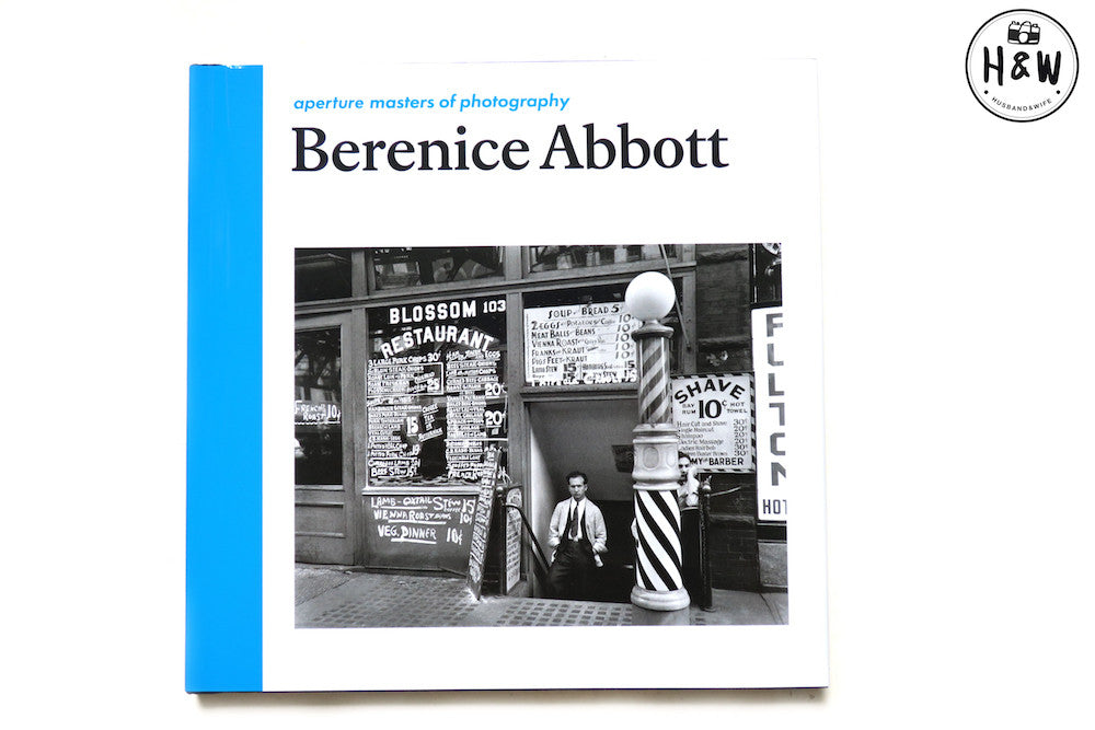 หนังสือภาพ Aperture Masters of Photography Series: Berenice Abbott