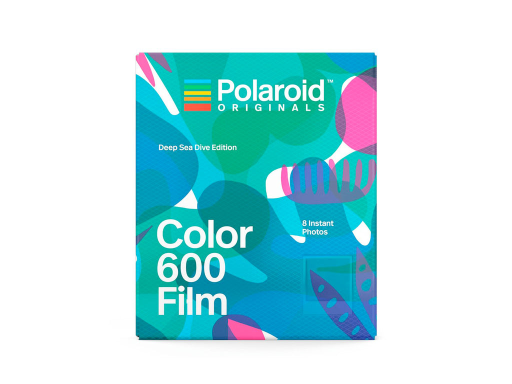 ฟิล์มสี Polaroid Color Film 600 Deep Sea Drive Edition