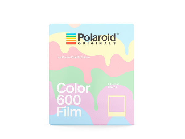 ฟิล์มสี Polaroid Color Film 600 Ice Cream Pastels Edition