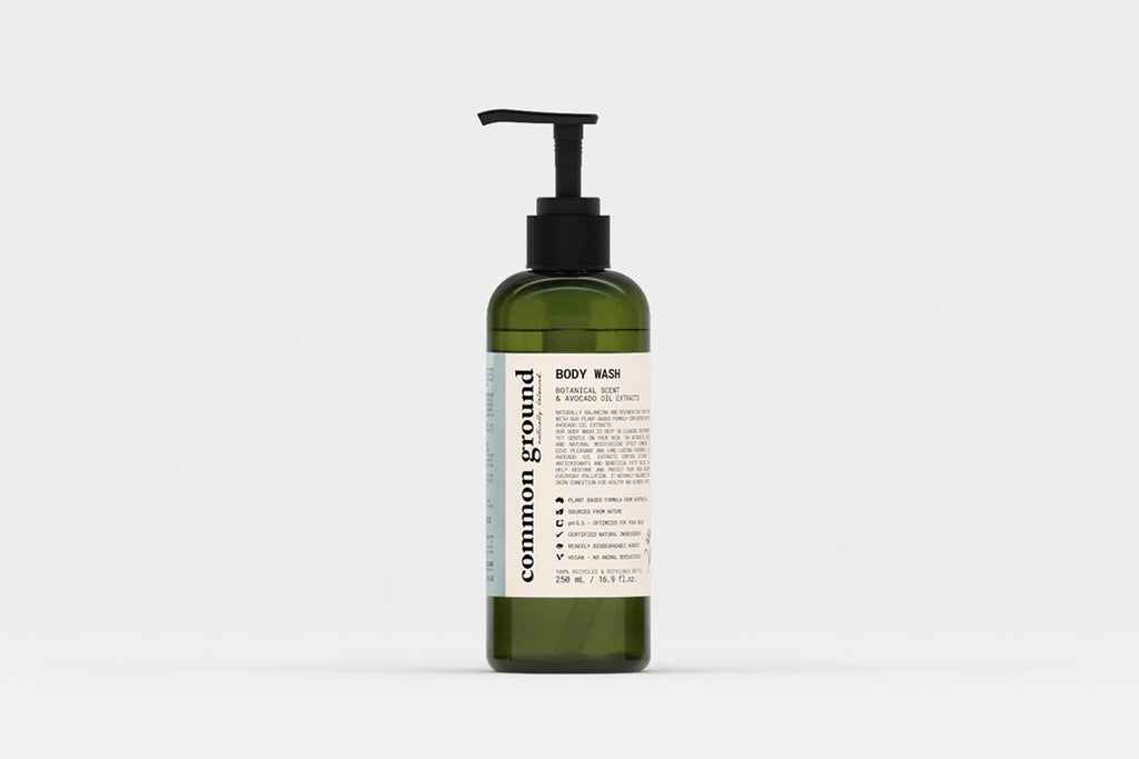 Common Ground Organic Body Wash (250ml.)