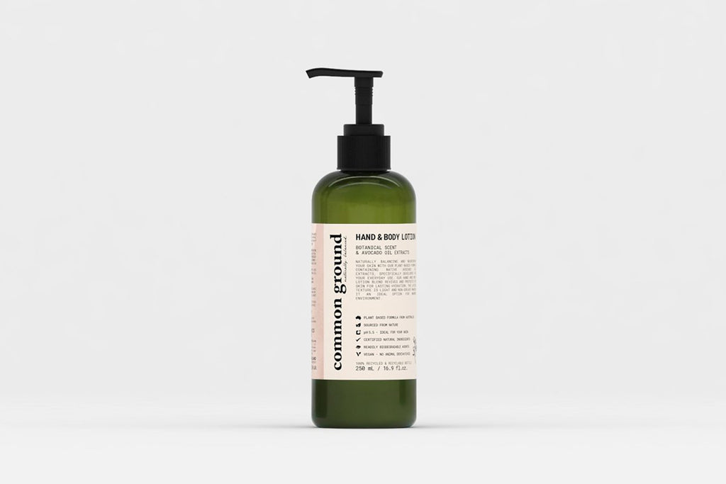 Common Ground Organic Hand & Body Lotion (250ml.)
