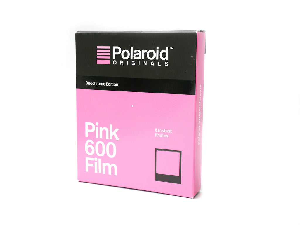 ฟิล์มสี Polaroid Pink 600 Film Duochrome