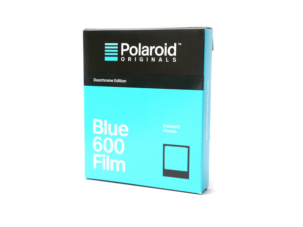 ฟิล์มสี Polaroid Blue 600 Film Duochrome