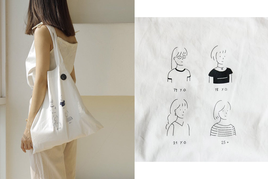 Totebag - I'm like it, I'm 25.