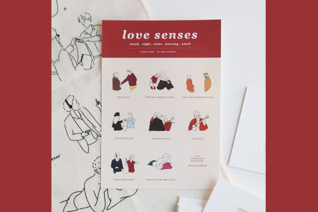 Sticker - Love Senses