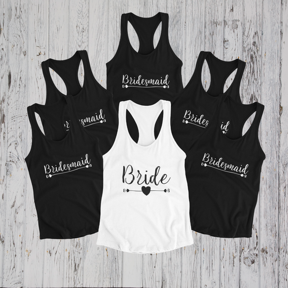 Bride & Bridesmaid Tank Top Bundle