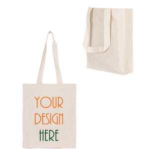 Customized Cotton Canvas Book Tote