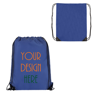 Customized Promo Drawstring Bag (12 Pack)