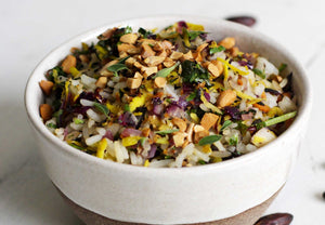Load image into Gallery viewer, wild rice made with baru nuts