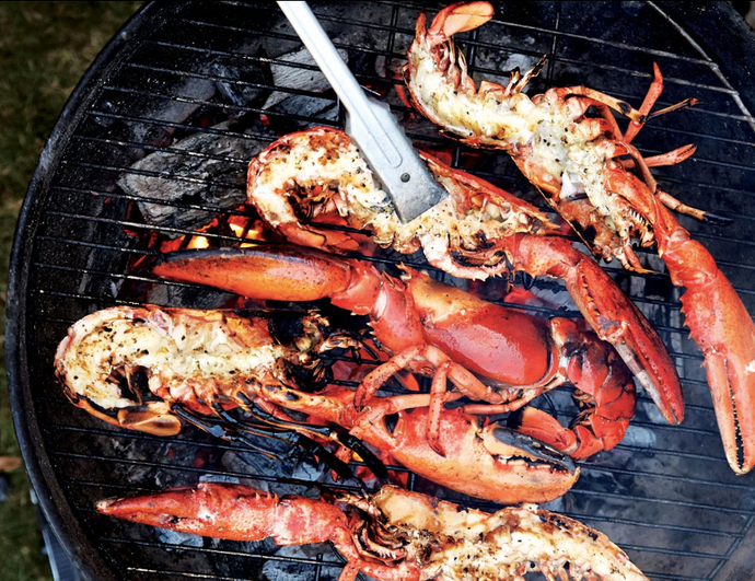 How To Grill Live Lobsters