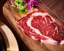 Load image into Gallery viewer, Prime Beef Rib-Eye Steak Butcher Box (MEAT ONLY) | 꽃등심 | 鲜牛肋眼肉