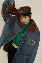 Load image into Gallery viewer, Vintage patch - collared denim jackets