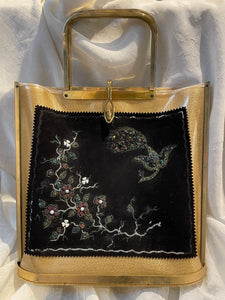 Vtg Tyrolean purse