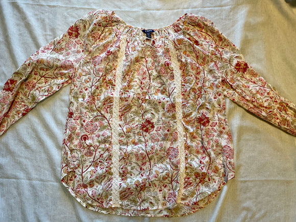 NWT Chaps blouse