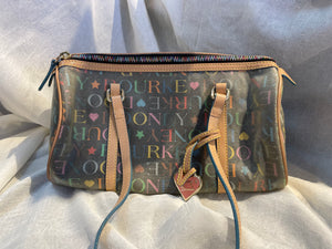 Vtg Dooney & Bourkey handbag