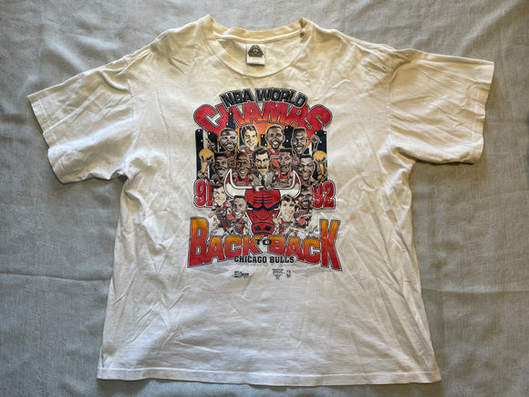 Vtg '92 Chicago Bulls shirt